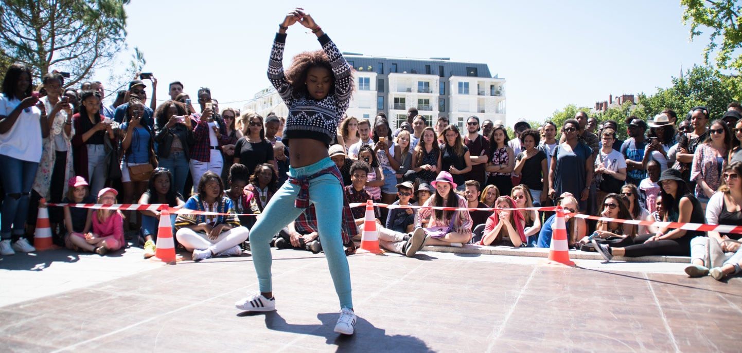 Battle Hip-Hop lors de la Block Party #2