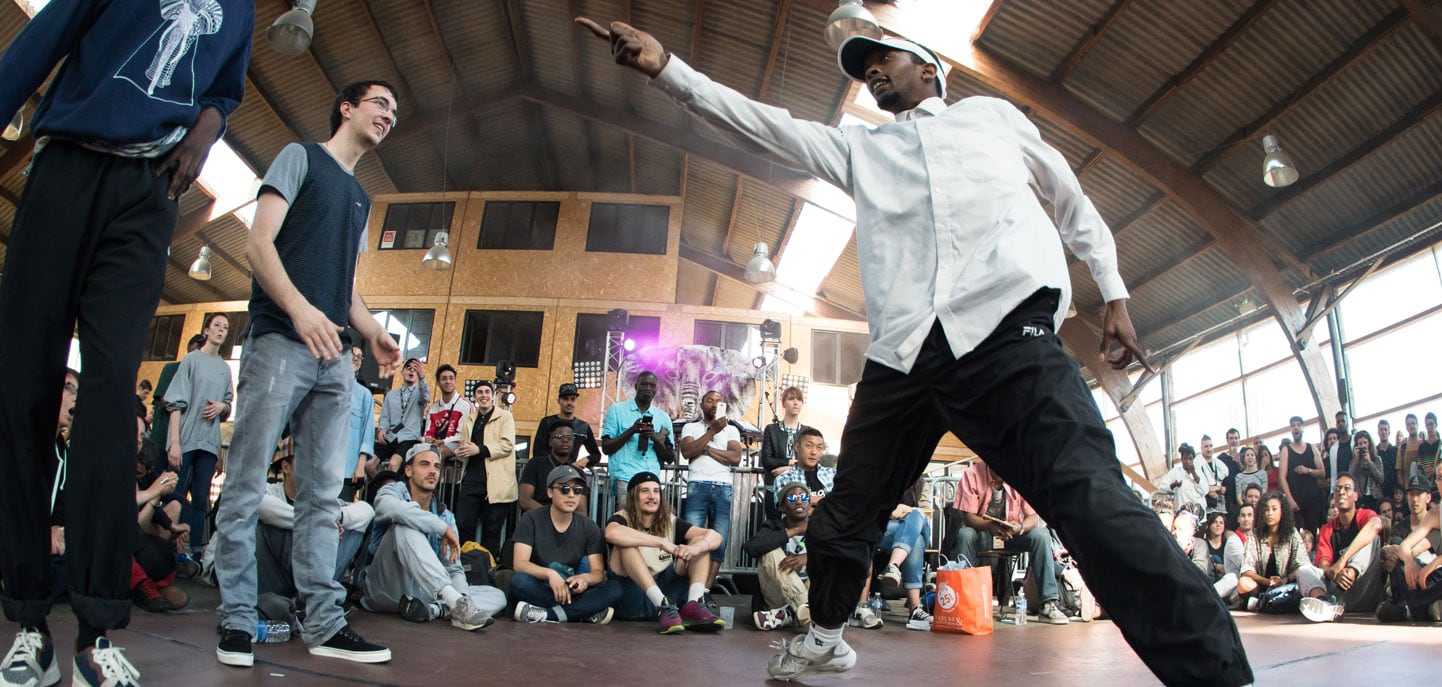 Battle de danse hip-hop